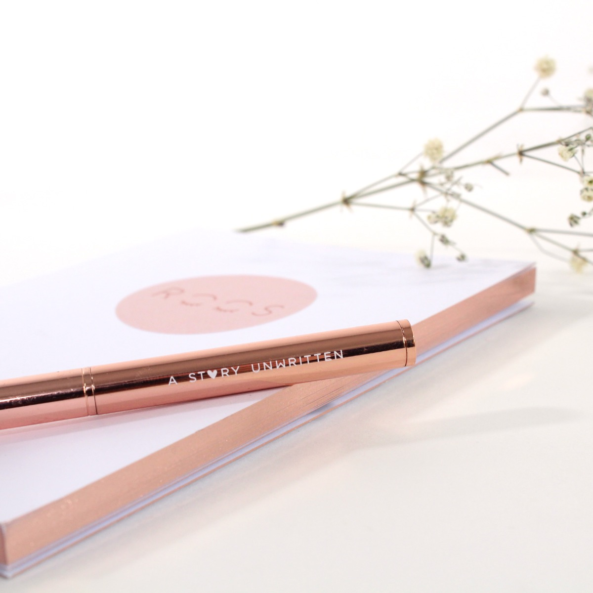 Notebook - ROSEGOLD