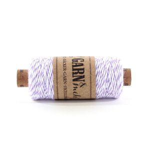 Bakers Twine - PAARS/WIT