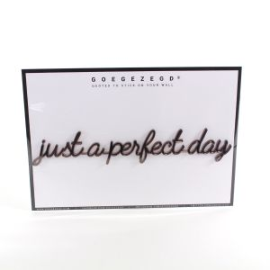 3D quote - just a perfect day (ROSEGOLD/KOPER)