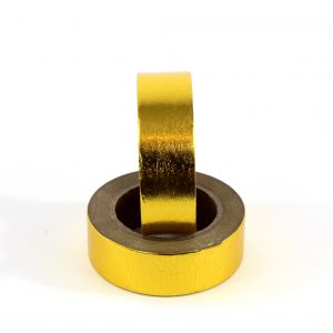 Masking tape shiny gold