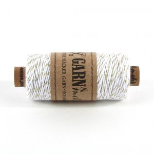 Bakers Twine - GOUD/WIT