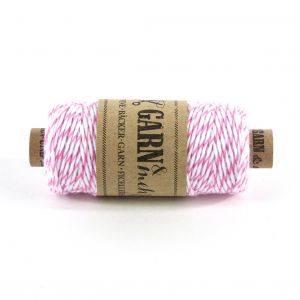 Bakers Twine - ROZE/WIT