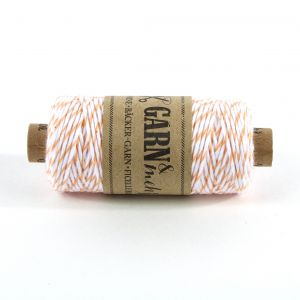 Bakers Twine - PEACH/WIT